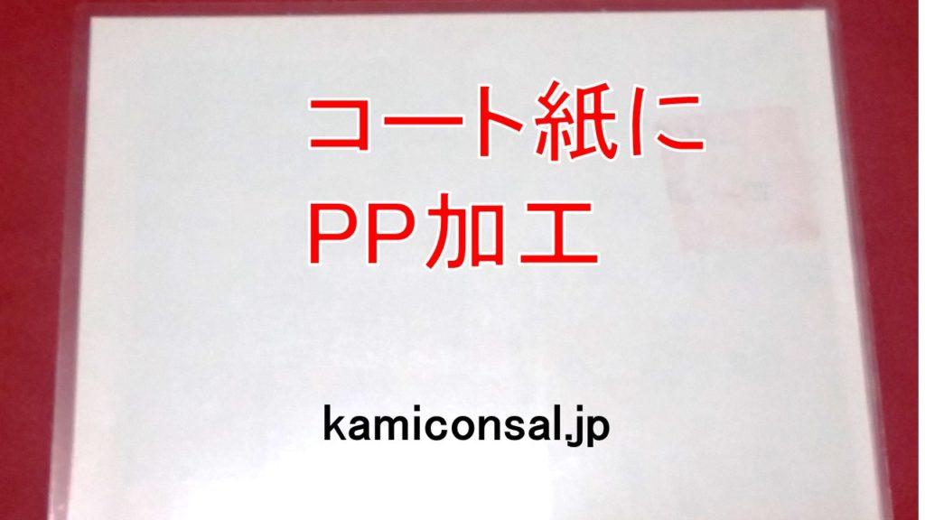 コート紙 PP加工