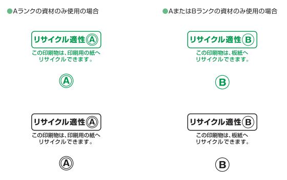リサイクル適性マーク
