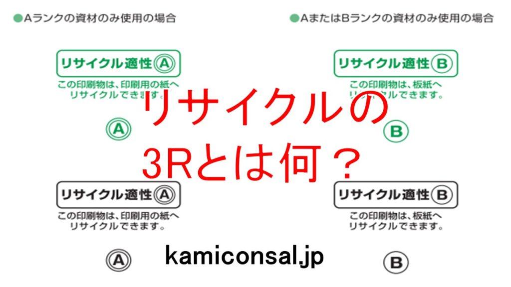 リサイクル 3R